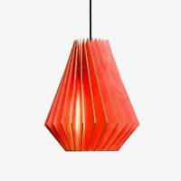 Holz-Lampe-HEKTOR-rot-Textilkabel-schwarz