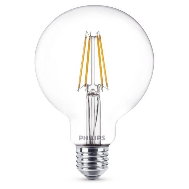 Philips LED globe-6W-E27