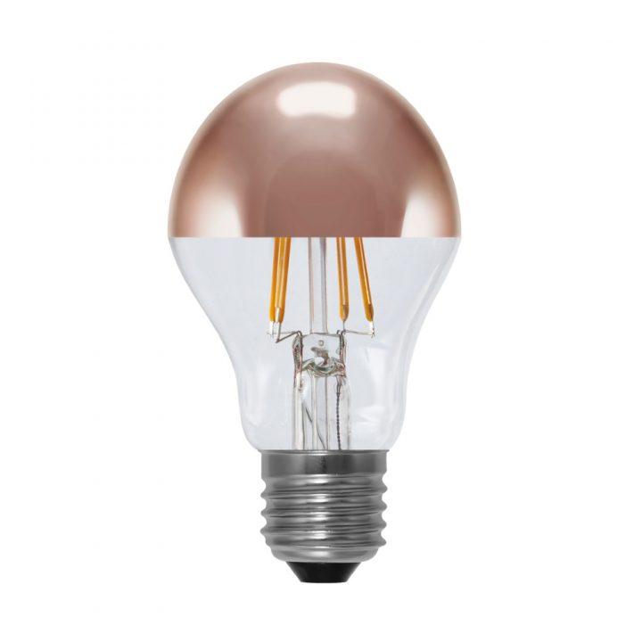 Segula Glühlampe LED Spiegelkopf Kupfer