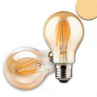 vintage line LED Birne 8W