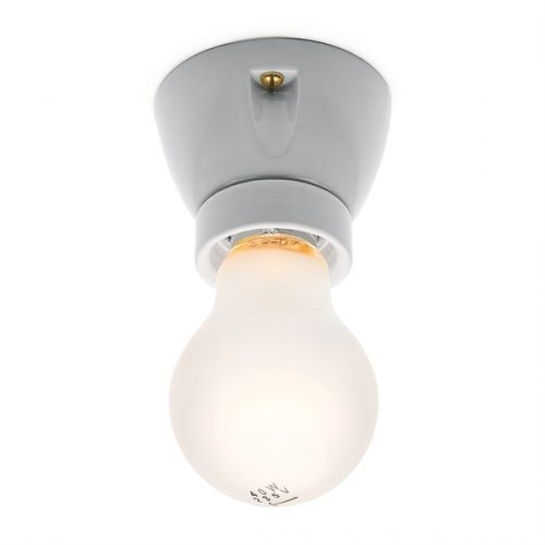 Lampelsockel weiß