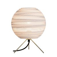 Moon Table Lamp White