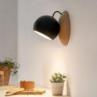 ORBIT-wooden-wall-lamp-made-of-oak-black-shining-magnetic