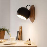 ORBIT-wooden-wall-lamp-made-of-walnut-black-shining-magnetic-2